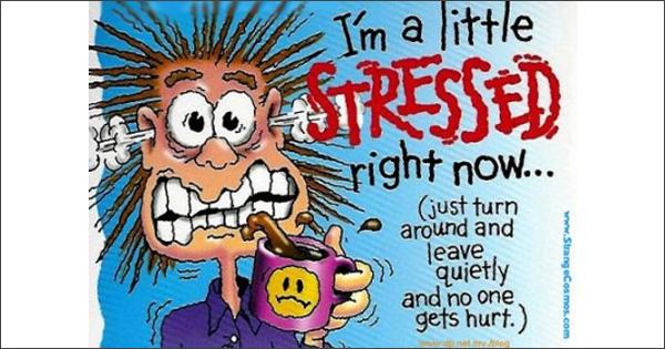 Før stresset tar meg