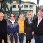 Millionstøtte fra Forskningsrådet betyr mye for det videre arbeidet til Helge Ramsdal (f.v.), Catharina Bjørquist, Erna Haug, Mona Jerndahl Fineide og Gunnar Vold Hansen. (FOTO: Ann-Kristin Johansen)
