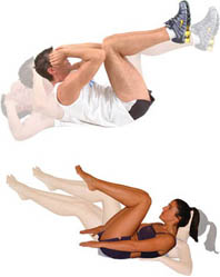 abdominal trening