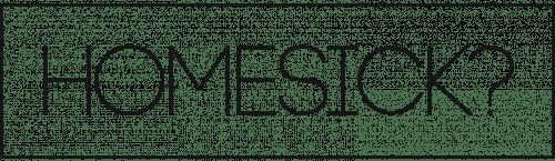 Homesick logo black