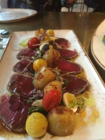 tonfisk shashimi