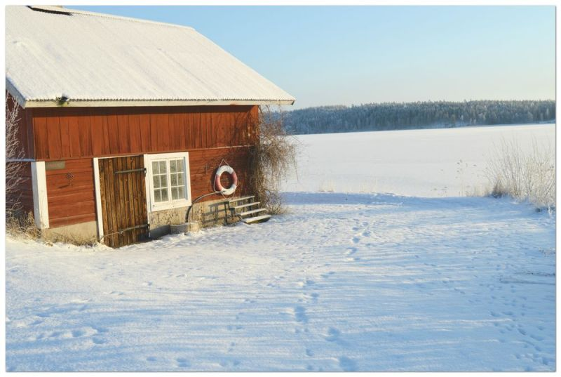 Julmusik och julmotiv, tänk er en promenad i sådan här miljö och lyssna till julmusik