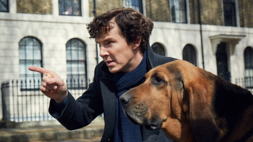 Picture shows: Sherlock (BENEDICT CUMBERBATCH)