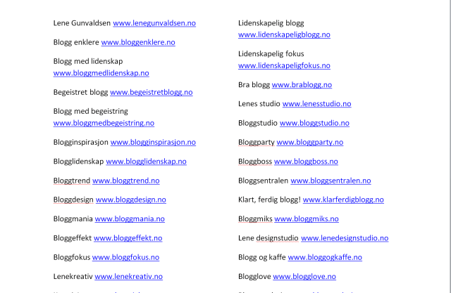 Å finne et godt navn til bloggen kan være noe av det vanskeligste med å komme i gang! Her viser jeg deg hvordan du finner et godt navn du ikke angrer på etter to uker.