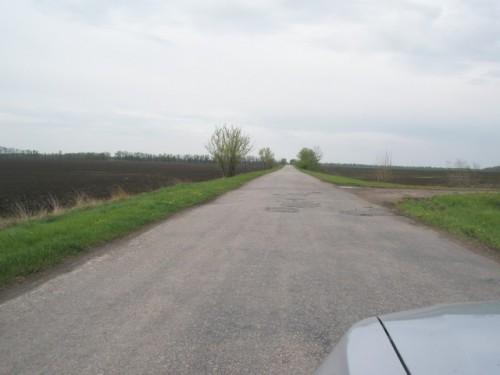 дороги между селами