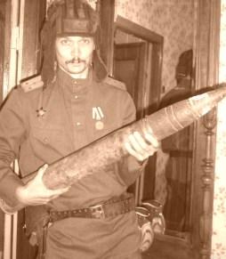 Во время оккупации мы сделали склад снарядов на 5-м этаже