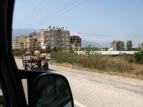 турецкие овощи поехали на Украину