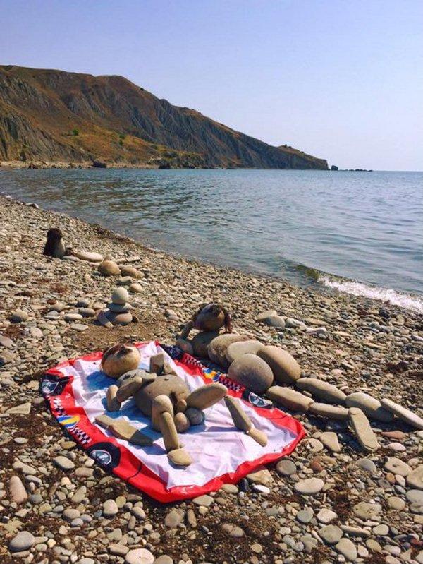 Крым туристы