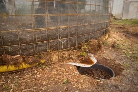 отопление опавшими листьями компостное отопление