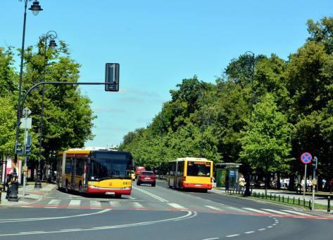 Польша городской транспорт