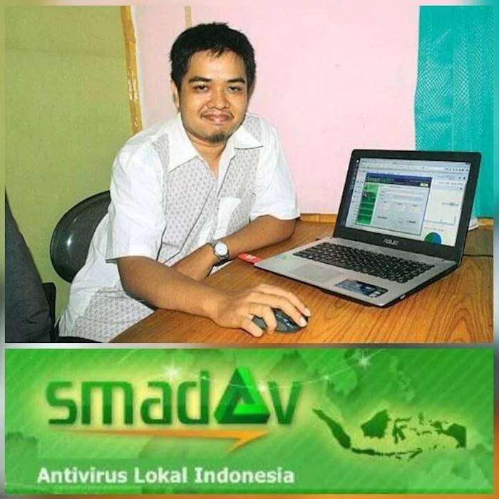 Zainudin Nafarin, Pencipta Anti Virus SMADAV