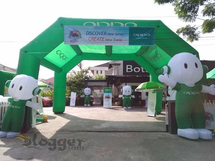 OPPO Selfie Tour de Pontianak 2017 - Botani Cafe and Resto