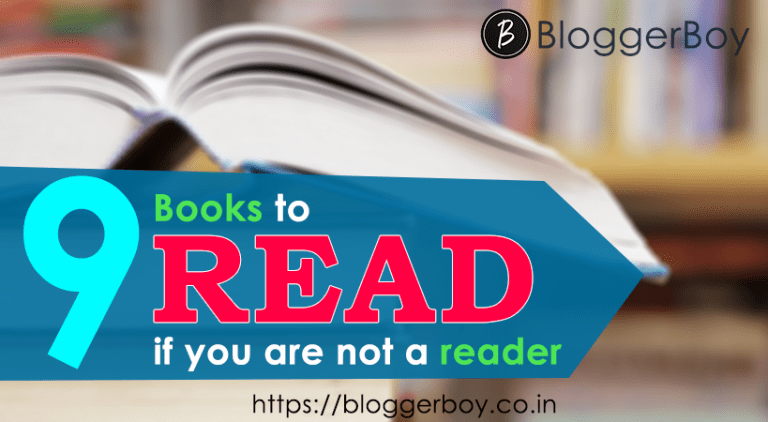 9 Books To Read If You Are Not A Reader