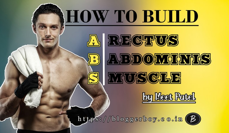 BEST WAYS TO BUILD 6 PACK ABS (RECTUS ABDOMINIS MUSCLE)