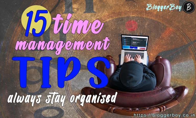 How to develop the skill of Time Management