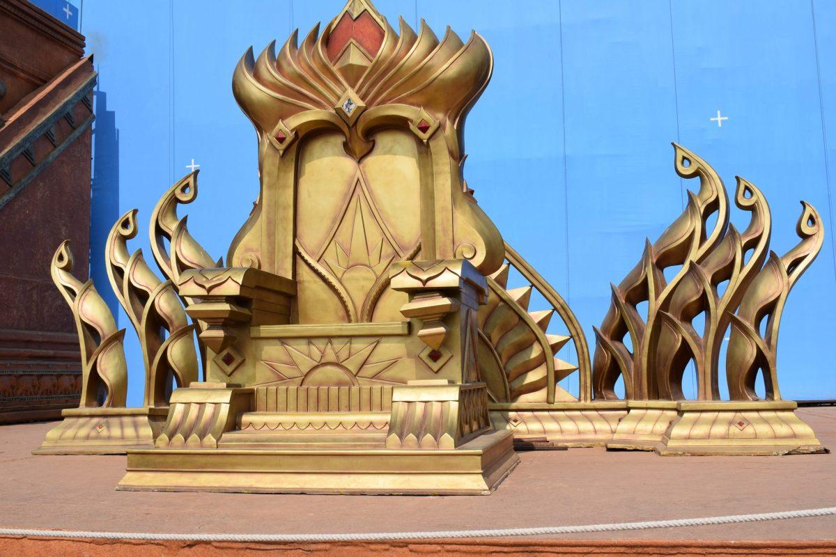 bahubali throne