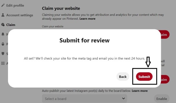 Easy way to claim wordpress blog on Pinterest How to Claim website on Pinterest on Blogger & Wordpress.