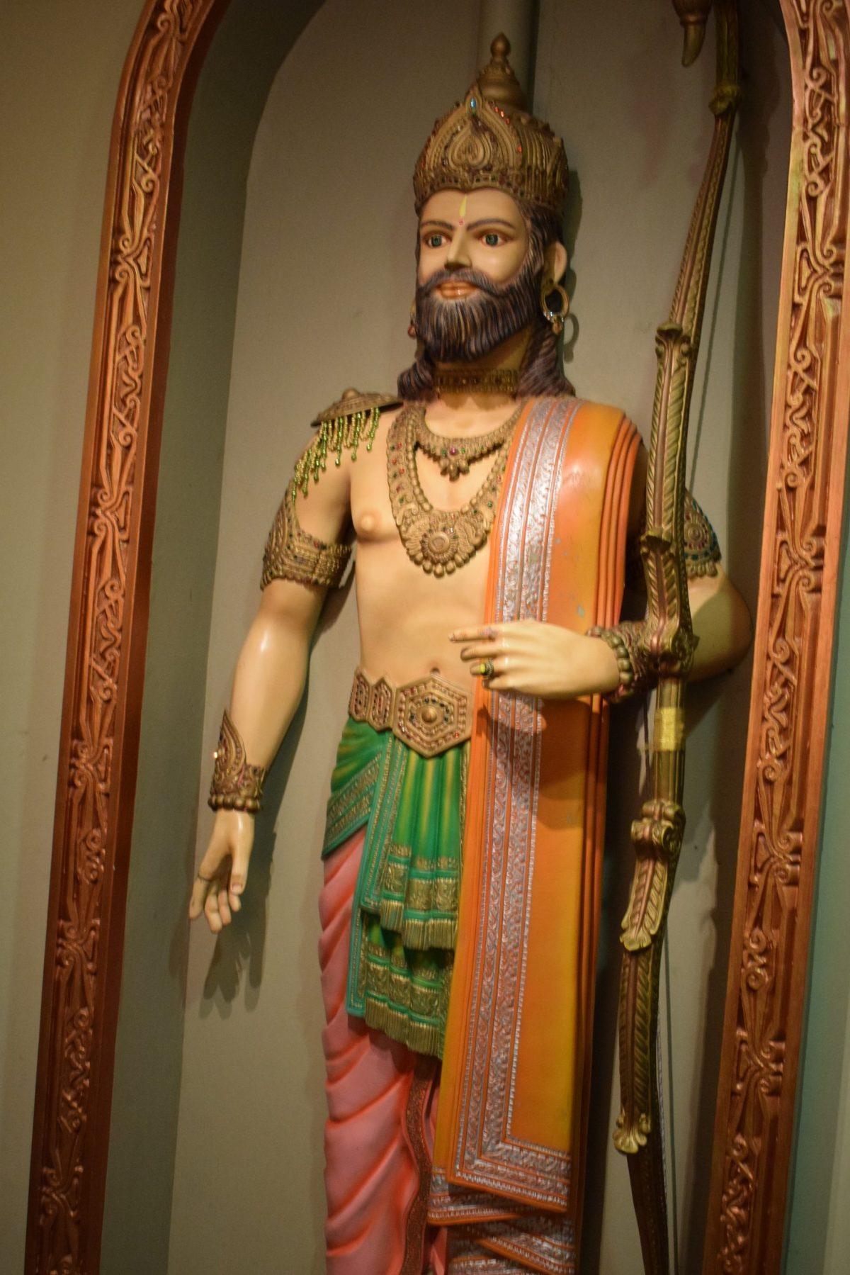 Hyderabad Film city Mahabharat set