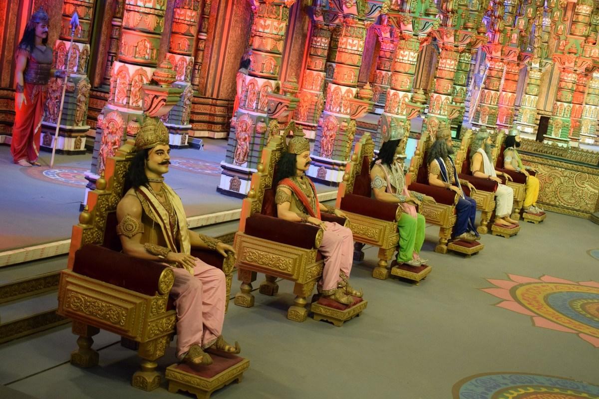 Mahabharat Ramoji filmcity photography