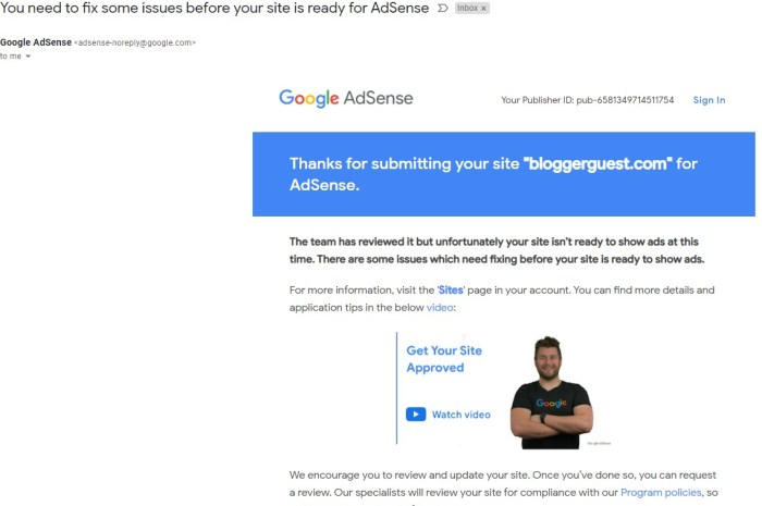 AdSense not accepting new websites/Blogs in COVID19 pandemic.