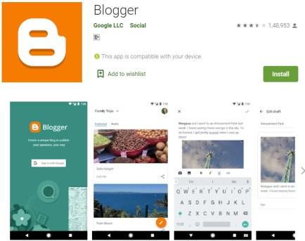 Make money blogging using smart phone