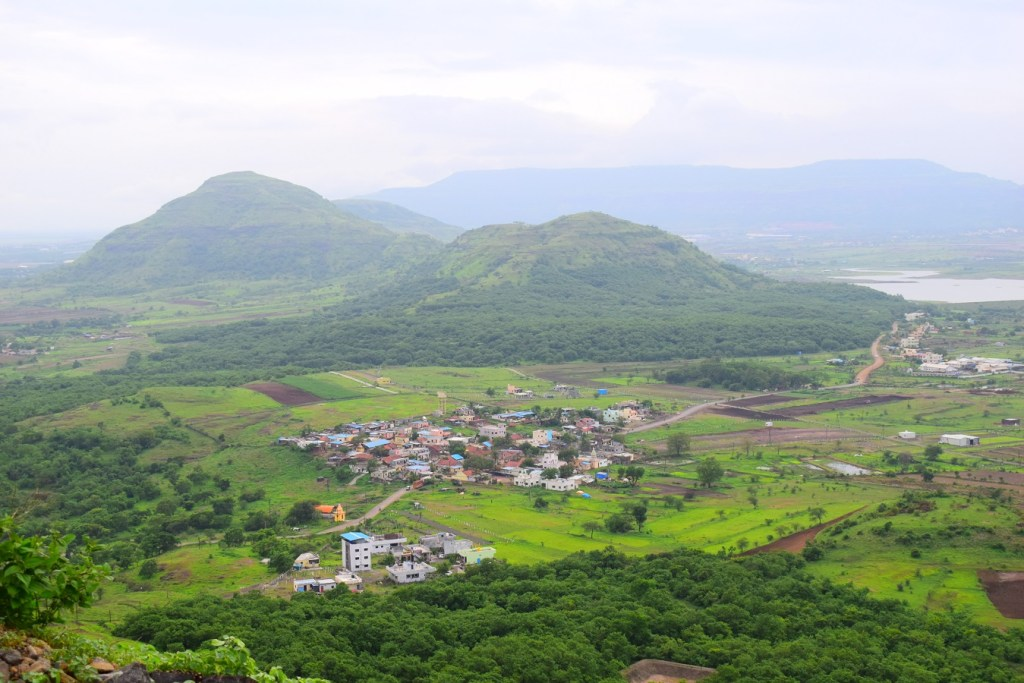 Picture - View from Bhandara hill, Bhandara dongar temple