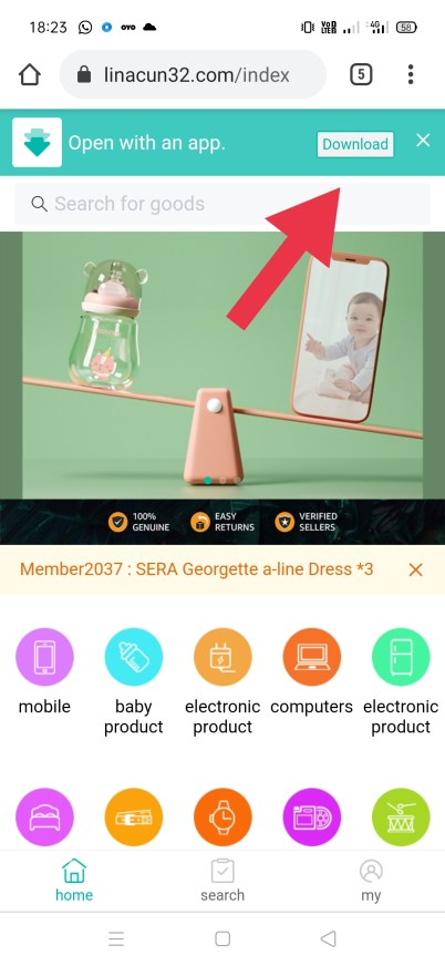 Downloading colour trading apk to earn money by color prediction