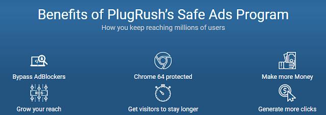 Plugrush Anti Adblocker to increase revenue