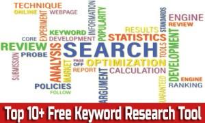 top 10 free keyword research tool