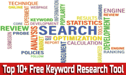 top 10 free keyword research tool