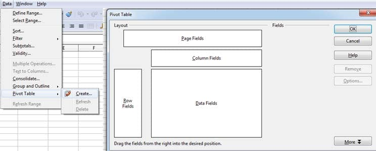 Pivot Table-Spreadsheet 12th Class