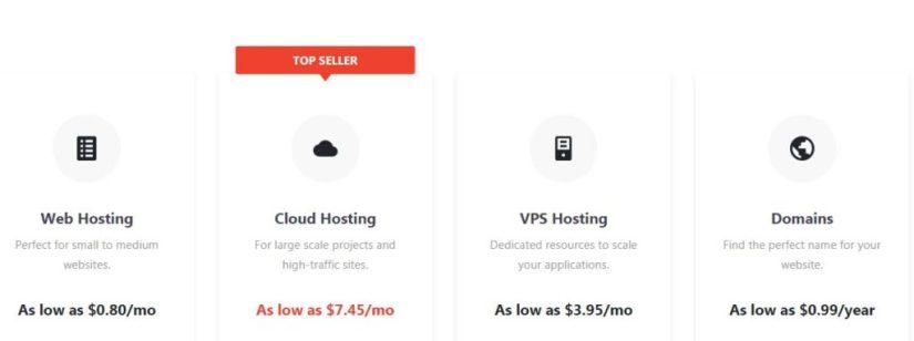 Hostinger Web Hosting Plans 2020
