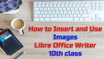 How to insert images in libre office