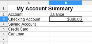 Account Summary