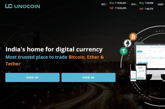 Unocoin Bitcoin