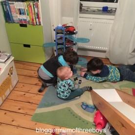 Kinderzimmer - vom Kleinkindzimmer zum KiGa-Kind Umgestaltung