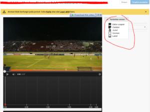 cara menambahkan end screen dan anotation di video youtube 5