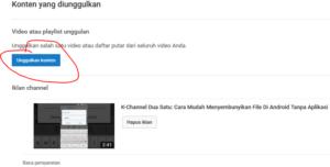 cara mengaktifkan kontent unggulan di youtube creator studio 3