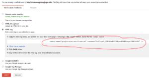 cara verifikasi blog ke google webmasters tools 3