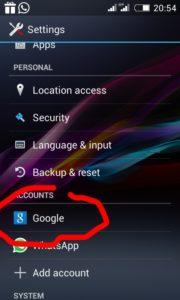cara menghapus salah satu akun gmail di android secara permanen 3