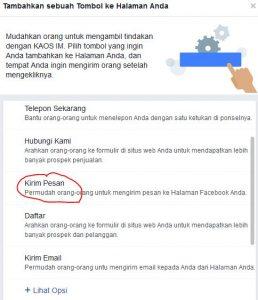 cara membuat ajakan bertindak di halaman atau fanspage facebook 2