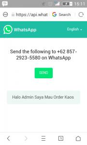 cara membuat link tombol call to action whatsapp dengan kata-kata sendiri 1
