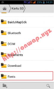 cara menambahkan dan install font di picsay pro android terbaru 6