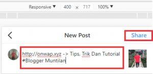 cara upload gambar instagram lewat pc dengan menggunakan web browser 4