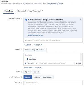 cara membuat iklan di facebook ads 4