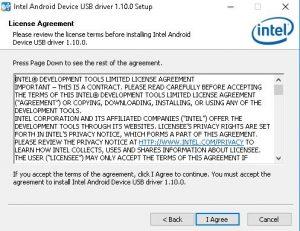 cara install asus intell android driver setup 4