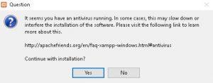 cara mudah install xampp Untuk membuat mordpress versi offline di windows 2