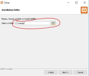 cara mudah install xampp Untuk membuat mordpress versi offline di windows 5