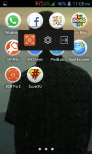 Cara Merekam Layar Android Lenovo A369i Menggunakan SCR Screen Recorder 1