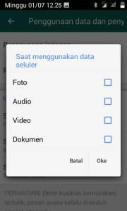 Cara Setting Gambar Whatsapp Tidak Tesimpan Otomatis 3